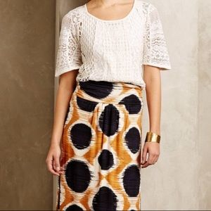 Maeve Melo Skirt Small